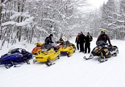 Indian River Michigan Snowmobile Trails